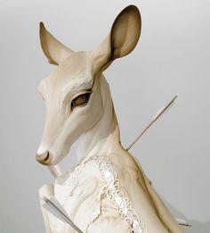 Beth Cavener - Follow the black rabbit   The White Hind