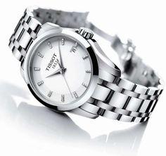 Zegarek Tissot Couturier Lady Diamonds