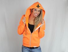 Luckless Clothing Company | Neon Orange Hoodie | Online Store Powered by Storenvy