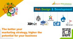 Jayam Web solutions is a leading web design company in Chennai  offering web design and web development services for companies all over India and Abroad.http://www.jayamwebsolutions.com/web-design-company-in-chennai-india.php