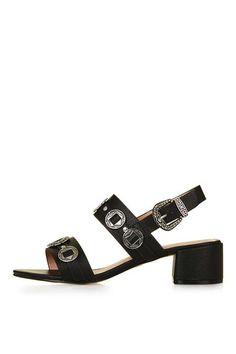 Sandales avec finitions style western DANDY