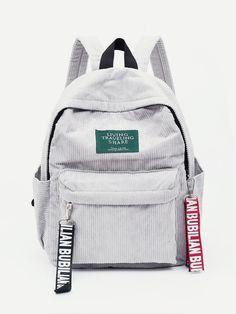 Composition: Corduroy Bag Size: Large Bag Length (cm): 25 cm Bag Width (cm): 12 cm Bag Height (cm): cm Handle Height (cm): cm Strap Length (cm): cm Style: Casual Strap Type: Convertible Magnetic: No Color: Brown, Black, Red, White Jansport Backpack, Laptop Backpack, Kanken Backpack, Backpack Bags, Fashion Backpack, Canvas Backpack, Sling Backpack, Leather Backpack, Romwe