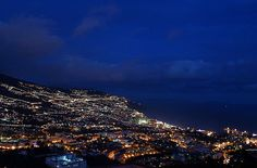 Funchal by night - Madeira Island - PORTUGAL
