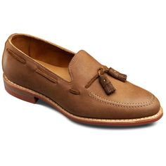 Allen Edmonds Lake Shore Dr Casual Loafers 2008 Tan Leather