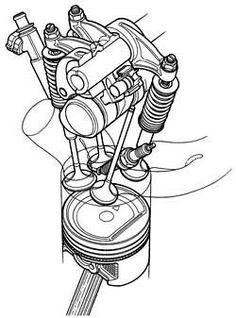 754 best engines stuff images motors engine autos 1956 Chevy Dump Truck valvulas en motores de cuatro tiempos