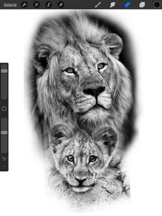 Lion Head Tattoos, Mens Lion Tattoo, Leo Tattoos, Animal Tattoos, Family Tattoo Designs, Lion Tattoo Design, Family Tattoos, Lion Tattoo Sleeves, Sleeve Tattoos