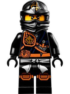 Lego Ninjago cole black ninja minifigure 70747 new 2015 ZUKIN