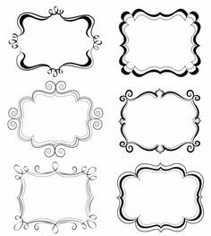 Frame Download, Vector Free Download, Free Frames, Borders And Frames, Free Website Templates, Free Label Templates, Doodle Frames, Printable Labels, Printables