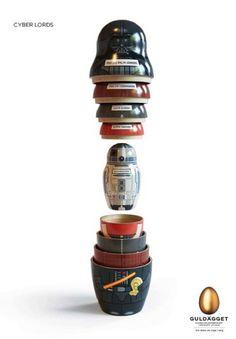 Nesting dolls - Star Wars style!!!