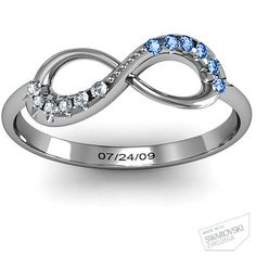 Love the two colors together. Would be great for an anniversary or even if you had two children with two birthdates.