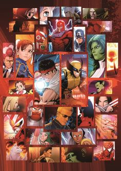 Marvel vs Capcom 3: Fate of Two Worlds by Shinkiro