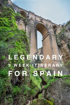 Take a look at our tested 2-3 week Spain Itinerary. How to get there, navigate between cities, transportation, wine tasting, activities, views, historical sites and more.