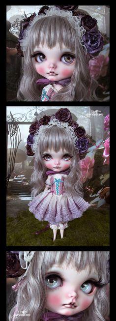 Custom Blythe Dolls: Yuridolltree Rose Ballet Custom Blythe - A Rinkya Blog