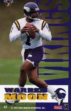 RARE 1994 CHRIS MARTIN PRO MAGNETS WARREN MOON MINNESOTA VIKINGS MINT  Vikings Football b126ff59e