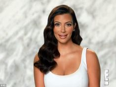Special gift: Kim Kardashian revealed she'd made a very special and intimate wedding gift ...