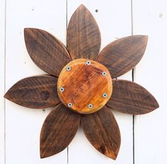 Rustic Outdoor Barn Wood Flower Wreath   Country Outdoor Wreath   Garden Lover Gift on Etsy, $29.00