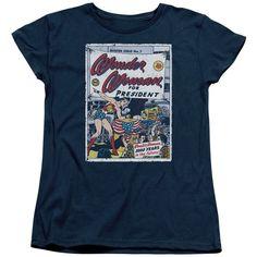Wonder Woman - For President Women's T-Shirt