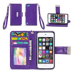 iPod Touch 5th / 6th Generation Case, IZENGATE [Classic Series] Wallet Case Premium PU Leather Flip Cover Folio with Stand for Apple iPod Touch 5th & 6th Generation (Purple) IZENGATE http://www.amazon.com/dp/B015S4U1LA/ref=cm_sw_r_pi_dp_7.5twb0AZF9Q3