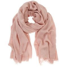 Mint Velvet Plain Textured Scarf, Pale Pink (205 RON) ❤ liked on Polyvore featuring accessories, scarves, lightweight scarves, mint velvet and faux-fur scarves