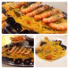 Spaghetti a la marinera!