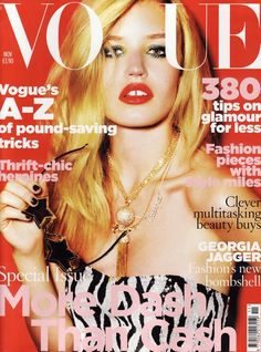 Georgia. British Vogue - British Vogue November 2009 Cover
