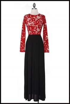 The Everlee Lace Maxi Dress