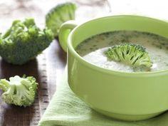 Receta de Sopa de Brocoli con Almendra