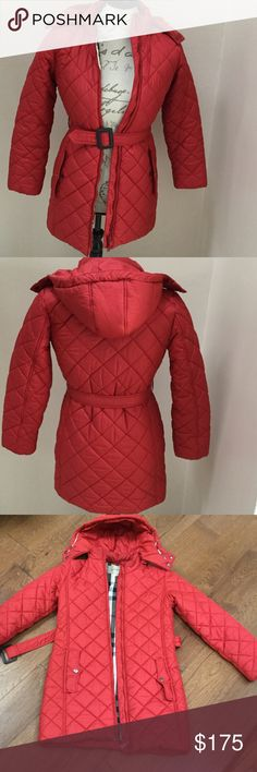 Pin by gina on kids style pinterest authentic red burberry kids puffer jacket fandeluxe Gallery