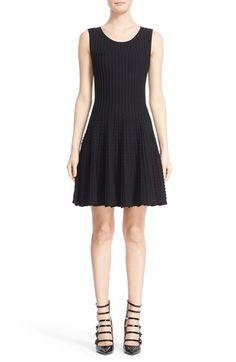 Fendi Rib Knit Fit & Flare Dress $1,700.00  #ShopSale #fashion! #WomensClothing