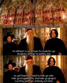 I laughed at this way harder than I should have :).. but Severus is not amused...