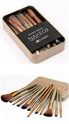 A girl can never have too many makeup brushes! Like this set? Click for more details <3