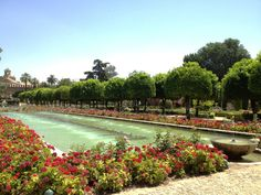 Cordoba, Spain -- Alcazar Gardens
