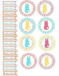 15 imprimibles gratuitos para tu fiesta Pascua