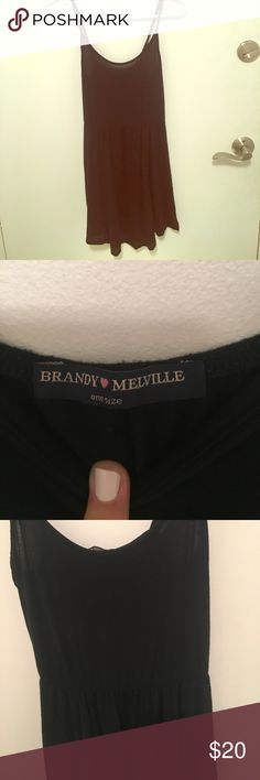 Brandy Melville Dress Super soft and sexy dress Brandy Melville Dresses Mini