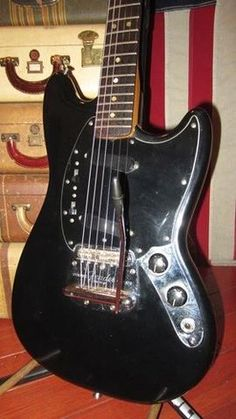 Vintage 1966 Fender Mustang Nice And Clean