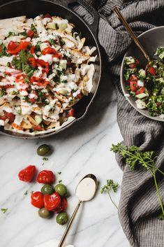 Chicken Shawarma Nachos | The Modern Proper