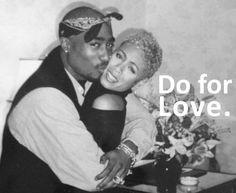 Cute - Tupac & Jada. # tbt