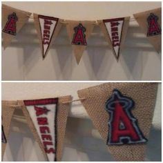 ANGELS BASEBALL banner by Thebannergirls on Etsy, $20.00