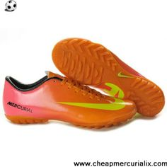 Latest Listing Nike Mercurial Vapor IX TF Orange Yellow Soccer Shoes Shop