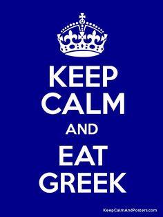 Greek food ...