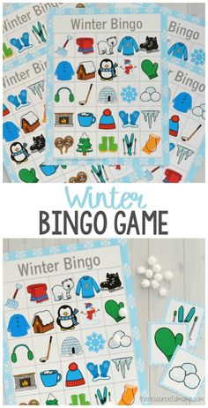 Winter Bingo Game This printable winter bingo is a fun low cost, low prep activity that can be done at home when the bingo Game winter winteractivities winterchristmas winterillustration winternature winterpictures winterscenes wintervibes winterwedding - Winter Activities For Kids, Holiday Activities, Toddler Activities, Winter Preschool Activities, Fun Classroom Activities, Winter Szenen, Winter Theme, Winter Holiday, In Kindergarten