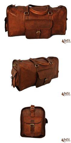 5f6f26bcc0fc Genuine Leather Duffel Bag 20