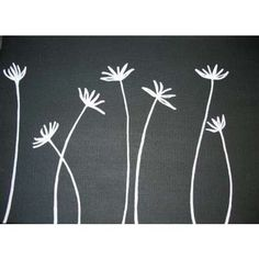 Simple Canvas Painting Ideas | easy flower paintings on canvas Easy Flower Paintings On Canvas