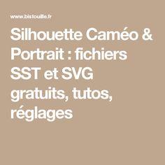 Silhouette Curio, Silhouette Portrait, Cricut, Scan N Cut, Silhouettes, Scrapbooking, Bullet Journal, Deco, Silhouette Cameo Files