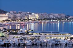 Cannes, France is beautiful.