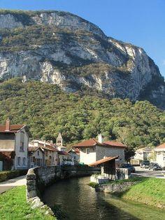 Sassenage - Isère dept. -  Village in Vercors, a massif of mountains - Rhône-Alpes region, France