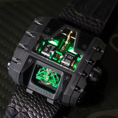 A green, mean racing machine: T-1000 Gotham by Rebellion.