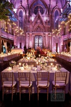 Event design - gorgeous location & lighting <3