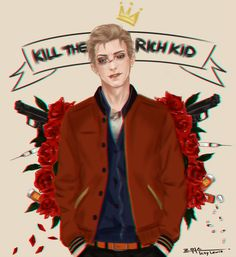 ~ Kill the rich kid ~ 20160308Nathan Prescott LiS commission completed. Couldn't resist my friend and this is the result. He didn't want me to upload it here and we argued but in the end he gave up, hah! I'm such a stubborn person, lmao