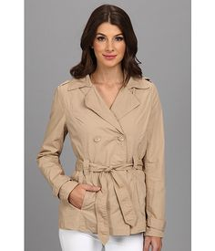 dollhouse Cotton Trenches Jacket - Belted Sand - 6pm.com